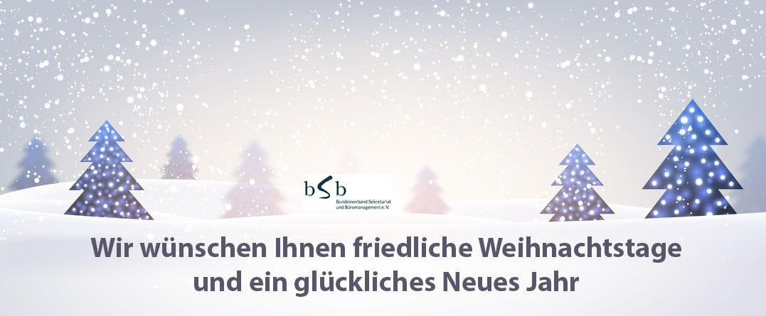 Weihnachten 2016 bSb-Office