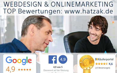 Webdesign & Onlinemarketing Agentur hatzak aus Berlin